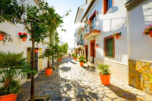 Property for sale in Estepona website banner